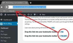 Pin-to-Blog-Wordpress-Plugin-Bookmarklets